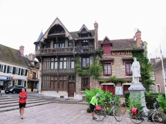 Maison Raccolet -  Half Timbered Guild Hall on the square in Moret-sur-Loing