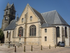 Eglise Saint-Martin - English: Church Saint-Martin of Fontenay-Trésigny