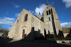 Eglise Saint-Pierre Saint-Paul - English: Saint-Pierre-Saint-Paul church of Ablis, France