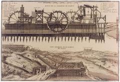 Bâtiments de la machine de Marly (également sur commune de Louveciennes) -