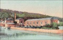 Bâtiments de la machine de Marly (également sur commune de Louveciennes) - English: Marly Machines. Building of the Dufrayer Machine.