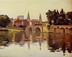 Pont sur la Seine (également sur commune de Poissy) -