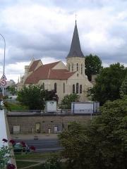 Eglise Notre-Dame -  photos prises à Chatou, en France