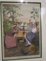 Restaurant Fournaise, dans l'île des Impressionnistes (ancienne île du Chiard) - English: The guinguette chez Fournaise in Chatou (Yvelines, France).