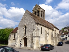 Eglise Saint-Pierre - Français:   Église Saint-Pierre de Chavenay - voir titre.