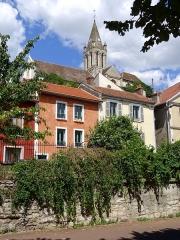 Eglise Saint-Maclou - Français:   Quai des martyrs de la Résistance et église Saint-Maclou.