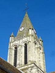 Eglise Saint-Maclou - Français:   Clocher.