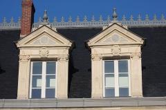 Prieuré - Château du Prieuré (Musée de la batellerie) à Conflans-Sainte-Honorineen France.