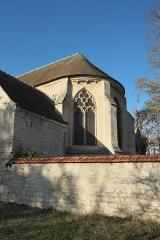 Eglise Saint-Léonard et Saint-Martin - Deutsch: Katholische Kapelle Saint-Léonard, ehemalige Pfarrkirche, in Croissy-sur-Seine im Département Yvelines (Île-de-France/Frankreich), Apsis