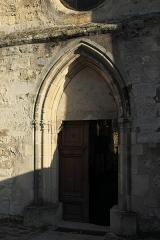 Eglise Saint-Léonard et Saint-Martin - Deutsch: Katholische Kapelle Saint-Léonard, ehemalige Pfarrkirche, in Croissy-sur-Seine im Département Yvelines (Île-de-France/Frankreich), Portal