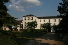 Maison dite Maison Joséphine -  Façad coté jardin de la maison Joséphine à Croissy où vécu Joséphine de Beauharnais