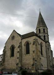 Eglise Saint-Béat - English: Church Saint-Béat of Épône.