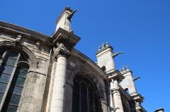Eglise Saint-Jacques-le-Majeur et Saint-Christophe - English: Saint-Jacques and Saint-Christophe church of Houdan, France