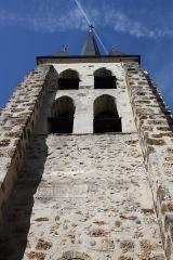 Eglise Saint-Martin - Deutsch: Katholische Pfarrkirche Saint-Martin in Jouy-en-Josas im Département Yvelines in der Region Île-de-France (Frankreich), Glockenturm