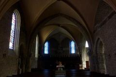 Eglise Saint-Martin - Deutsch: Katholische Pfarrkirche Saint-Martin in Jouy-en-Josas im Département Yvelines in der Region Île-de-France (Frankreich), Innenraum