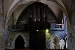 Eglise Saint-Martin - Deutsch: Katholische Pfarrkirche Saint-Martin in Jouy-en-Josas im Département Yvelines in der Region Île-de-France (Frankreich), Orgel von John Abbey