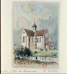 Abbaye de Notre-Dame-de-la-Roche - French lithographer and painter