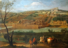 Aqueduc - French painter brother of Jean-Baptiste Martin