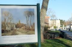 Château de Voisins - Français:   Entrée du village de Voisins, Camille Pissarro