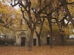 Eglise  ou chapelle de la Paix -  La vieille église de la ville de Maisons-Laffitte aux Yvelines, dans la région parisienne.