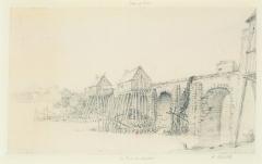 Vieux pont de Limay (également sur commune de Limay) -  Le Pont de Mantes