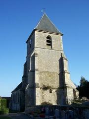 Eglise -  Église de Marcq (Yvelines, France)
