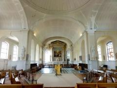 Eglise Saint-Etienne - Saint-Vigor -  Intérieur de l'église (voir titre).