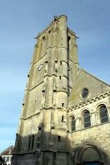 Eglise Saint-Nicolas -  Clocher de Maule - Yvelines (France)