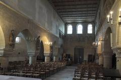 Eglise Saint-Nicolas - Deutsch: Katholische Kirche Saint-Nicolas in Maule im Département Yvelines (Île-de-France/Frankreich), Innenraum