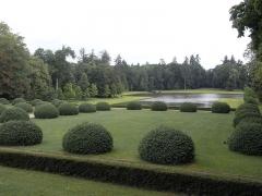 Château - English: Garden of the Château des Mesnuls, Yvelines