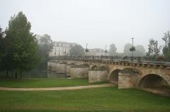 Petit Pont -  Pont aux Perches à Meulan - Yvelines (France)