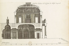 Château - English: Profil du dedans de la grotte de [Noisy-le-Grand];