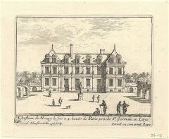 Château - English: Chasteau de Noisy le sec a 4 lieuës de Paris proche St Germain en Laye