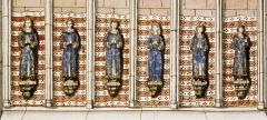 Abbaye - Čeština: Ludvík, Filip, Jan, Isabela, Petr a Robert - děti Ludvíka IX.R