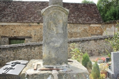 Croix de cimetière - English: Calvary in the cemetery of the church Saint-Férréol in the town of Saint-Forget in the Yvelines department in France.