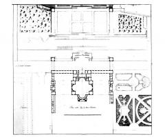Restes du château Neuf - Français:   Ancien plan du Château Neuf de Saint-Germain-en-Laye