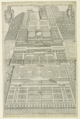 Restes du château Neuf - French drawer and copper engraver
