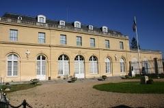 Château du Val - English: Façade du château du Val à Saint-Germain-en-Laye (Yvelines, France)