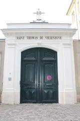 Couvent des Dames de Saint-Thomas - Français:   Entrée du couvent des Dames de Saint-Thomas, Saint-Germain-en-Laye.