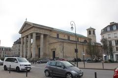 Eglise Saint-Louis - Église Saint-Germain de Saint-Germain-en-Laye.