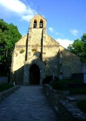 Eglise et cimetière - English: Church of Saint-Lambert des Bois (Yvelines, France)