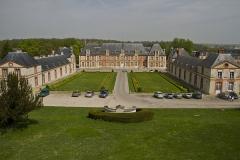 Ancien château de Grignon, actuelle école nationale d'agriculture de Grignon - Français:   AgroParisTech Grignon