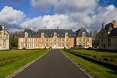 Ancien château de Grignon, actuelle école nationale d'agriculture de Grignon - Français:   Château de Grignon