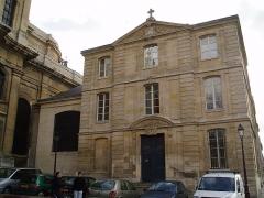 Cathédrale Saint-Louis -   Maison des lazaristes: Presbytère de la cathédrale Cathédrale Saint-Louis de Versailles  Architecte: Jules Hardouin Mansart de Sagonne  Construction: 12 juin 1743  Inauguration: 24 août 1754   consacrée cathédrale en 1843