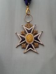 Cathédrale Saint-Louis - Français:   Croix des chanoines du chapitre de la cathédrale de Versailles