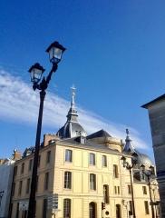 Cathédrale Saint-Louis - Français:   le presbytère de la cathédrale Saint Louis de Versailles, construit sur l\'emplacement de la premiere chapelle Saint Louis en 1760