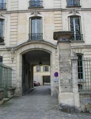 Domaine national : Hôtel des Réservoirs ou Hôtel de Pompadour - English: Hôtel des Réservoirs in Versailles (France)