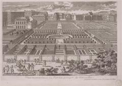 Domaine national : ancien potager du Roi et parc de Balbi - Deutsch: Ansicht des Potager du Roi