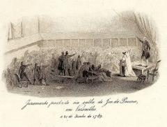 Domaine national : Salle du Jeu de Paume -  Bailly a Versailles