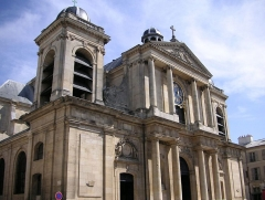 Eglise Notre-Dame -  France, Church in Versailles
